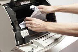 گیر کردن مداوم کاغذ در چاپگر canon