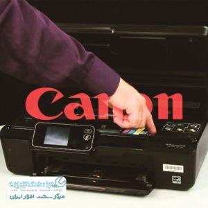 تعویض کارتریج کانن Canon