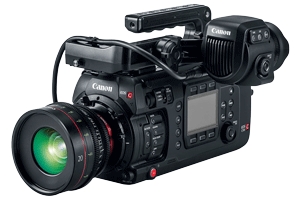 نخستین دوربین سینمایی فول فریم کانن