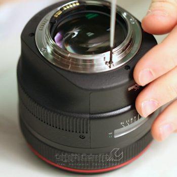 تعمیر لنز دوربین فیلمبرداری کانن