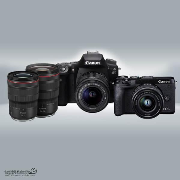 دوربین کانن EOS M6ii و EOS 90D
