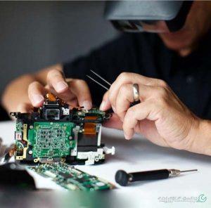 تعمیر تخصصی دوربین کانن