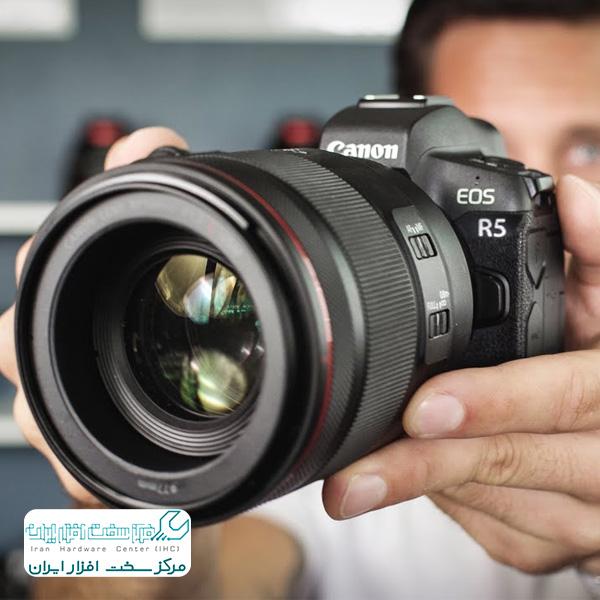 دوربین بدون آینه کانن EOS R5