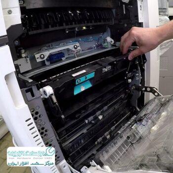 گیر کردن کاغذ در دستگاه کپی