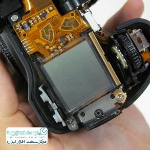 تعمیر ال سی دی دوربین کانن