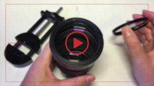 فیلم آموزش تعویض لنز دوربین کانن