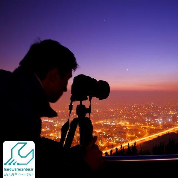 اصول عکاسی در شب با دوربین