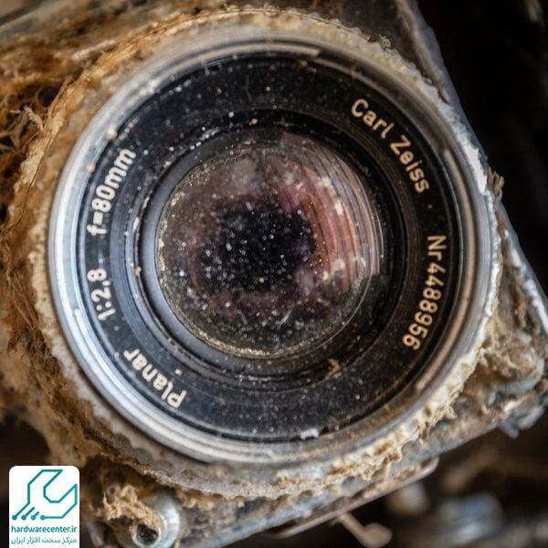 قارچ خوردگی لنز دوربین کانن